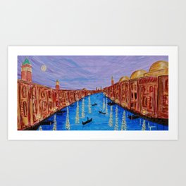 The Second Evening in Venice Art Print
