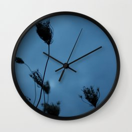 Queen Anne's Lace at Dusk Wall Clock