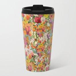 FLORAL // LIFE OF FLOWERS Travel Mug
