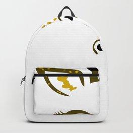 Giraffe Face Backpack