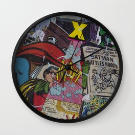 Comics Trip, Full Canvas Wall Clock