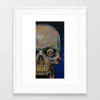 vampire Framed Art Prints featuring Vampire by Michael Creese