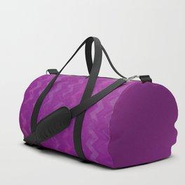 Magenta Jewel Tone and Chevrons Duffle Bag