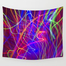 Electric Love Wall Tapestry