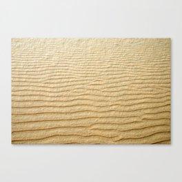 NATURAL SAND ART Canvas Print