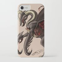 demon iPhone & iPod Cases featuring Demon by Alexiel