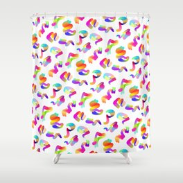 CRAZY PATTERN Shower Curtain