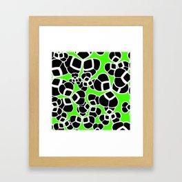 "Koloman (Kolo) Moser ""Textile pattern (Cloverleaf / Shamrock)"" (3) Framed Art Print"