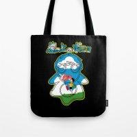 ponyo Tote Bags featuring Ponyo by CarloJ1956