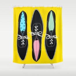 Original Keds Classics More Or Less Shower Curtain