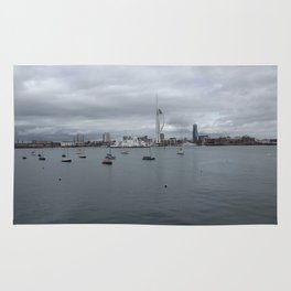Spinnaker Tower, Portsmouth UK Rug