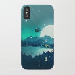 Beneath Barafundle iPhone Case