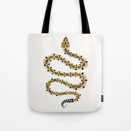 Olive Serpent Tote Bag