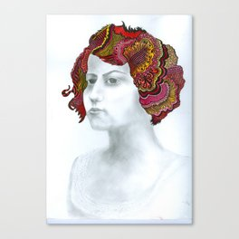 Painted Lady #1 For Sale!!!! Canvas Print