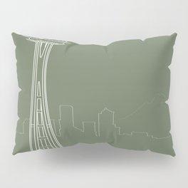 Seattle by Friztin Pillow Sham