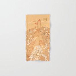 Flower Bath 10 (censored version) Hand & Bath Towel