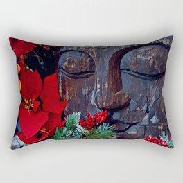 Christmas zen Rectangular Pillow