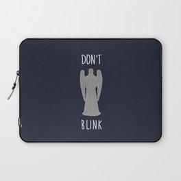 don't blink Laptop Sleeve
