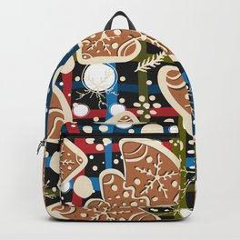 Gingerbread Backpack