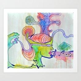 Comatose Art Print