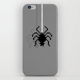 Pixel Spider iPhone Skin