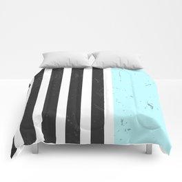 LIGHT BLUE STRIPES Comforters