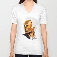 clint eastwood V-neck T-shirts featuring Eastwood by zero Bounty