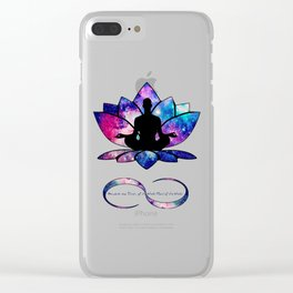 Free your Soul to Infinity Clear iPhone Case