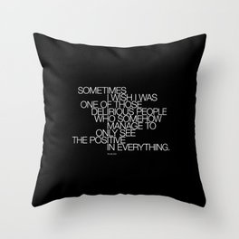 PLUX 0005 Throw Pillow