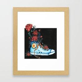 Sweet Kicks Framed Art Print