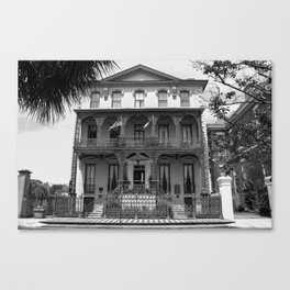 Governor Rutledge House, Charleston, South Carolina Canvas Print