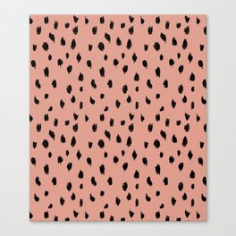 Seeing Spots in Smoked Salmon Canvas Print
