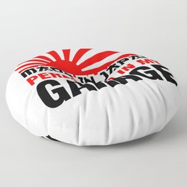 garage Floor Pillow
