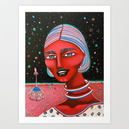 Celeste Art Print