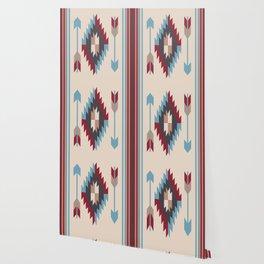 American Native Pattern No. 12 Wallpaper