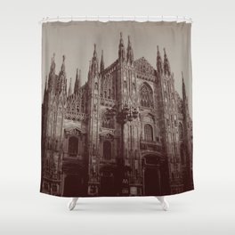 Milan Duomo, Milan Shower Curtain