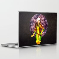 rogue Laptop & iPad Skins featuring Rogue by Doodleholic