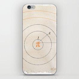 irrational glance iPhone Skin