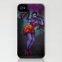 Vampire Pinup iPhone Case