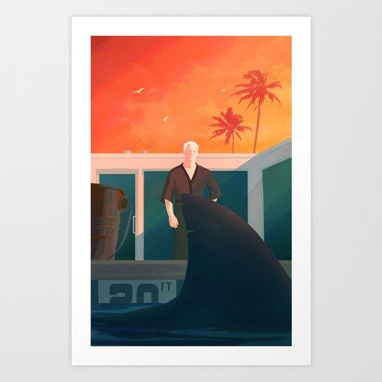 Feed the Ego Art Print