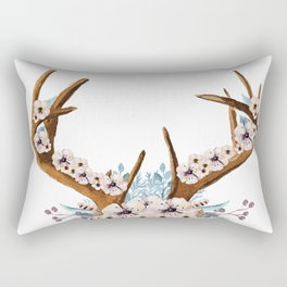 The Stag Fall Florals Rectangular Pillow