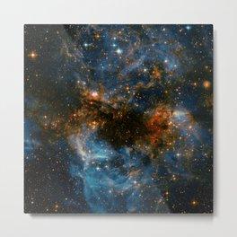 Galaxy Storm Metal Print