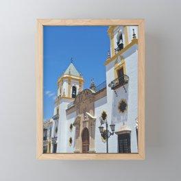 Spanish Architecture Framed Mini Art Print