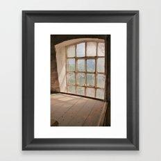 A Millers View Framed Art Print