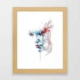Indelible scars Framed Art Print