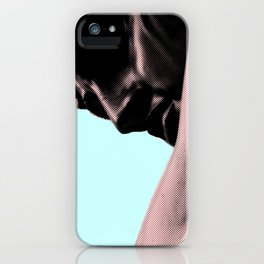 Homme_blue light iPhone Case