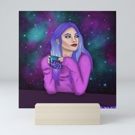 A cup of imagination Mini Art Print