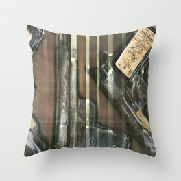 hijos de villa Throw Pillow