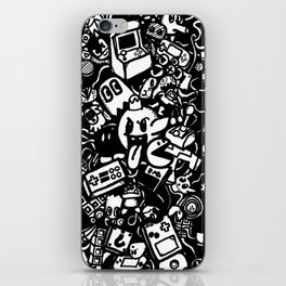 Classic computer gaming characters iPhone Skin