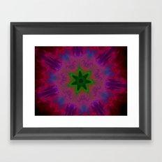 Kaleidoscope 'K1 SN' Framed Art Print